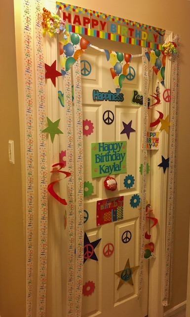 Welcome to Door Decor! - Your Only Destination for a Unique Celebration ExperienceDoor Decor evolved when people wanted to celebrate someone special by decorating their bedroom doors. With streamers, banners and foil stars, people were waking up the morning of their special day to a door filled with decorations hung up especially for them.After careful thought, (and the help from a new machine), the decorations became personalized and more unique for each individual. In addition, other items were being made, such as glassware and decorations for bunks at overnight camp.New themes are being made all the time. If you don't see a theme on here that you are looking for, get in touch with us and we will do our best to make your request available.We hope you like what you see at Door Decor and thank you for visiting us.