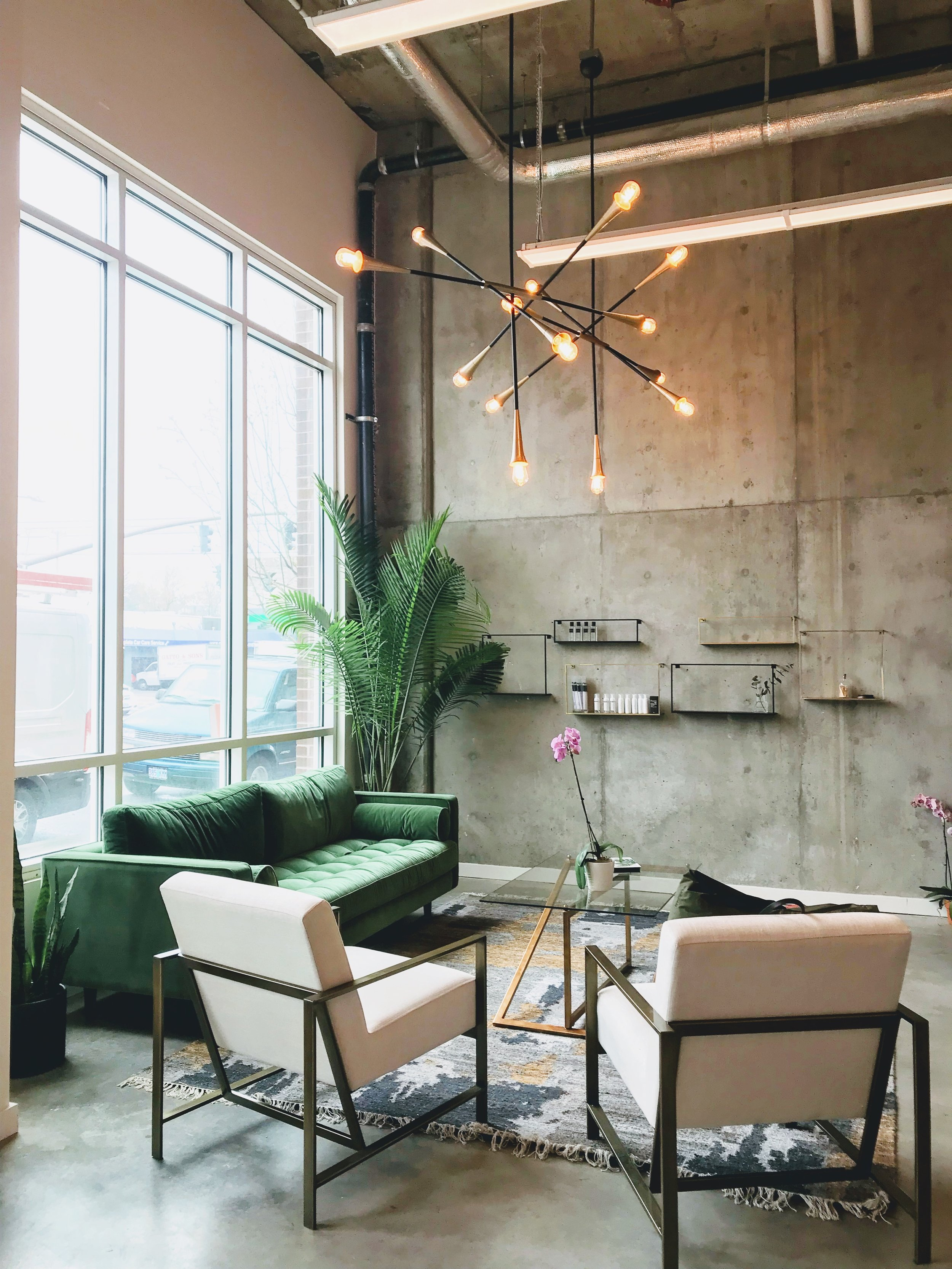 Commercial Installation / Revive Lash Co., Portland, Ore.