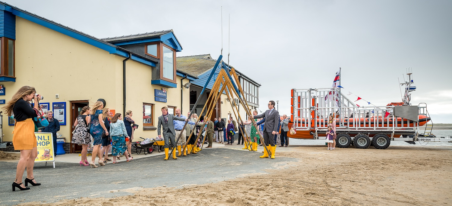 Paul Fowles Photography, Aberdovey Aberdyfi, Lifeboat and Paddles.jpg
