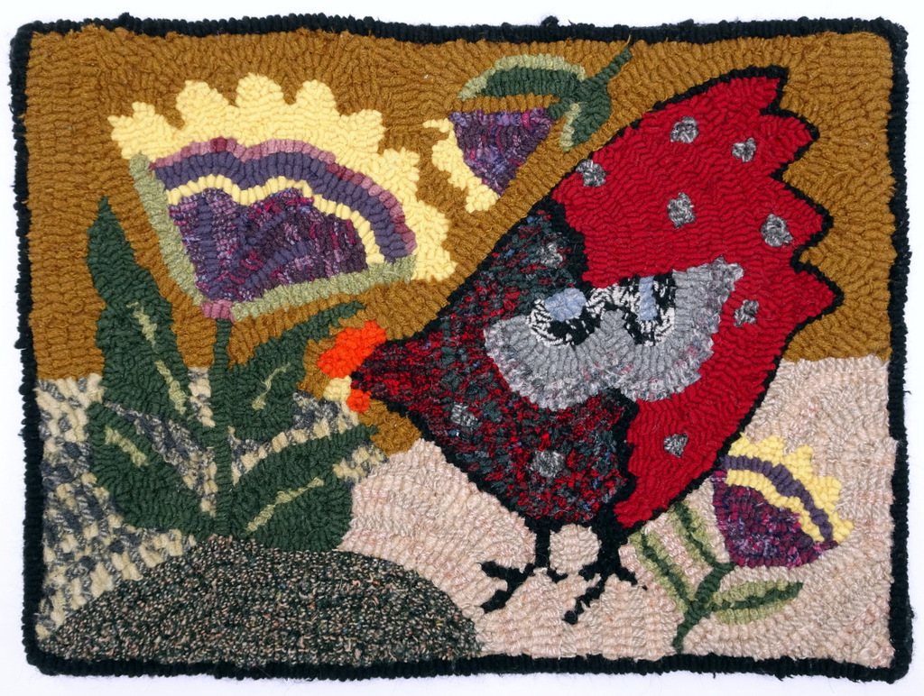 Hooked Rugs, Felted Wool, Buttons, Bitty Bits Mosaics-010.JPG
