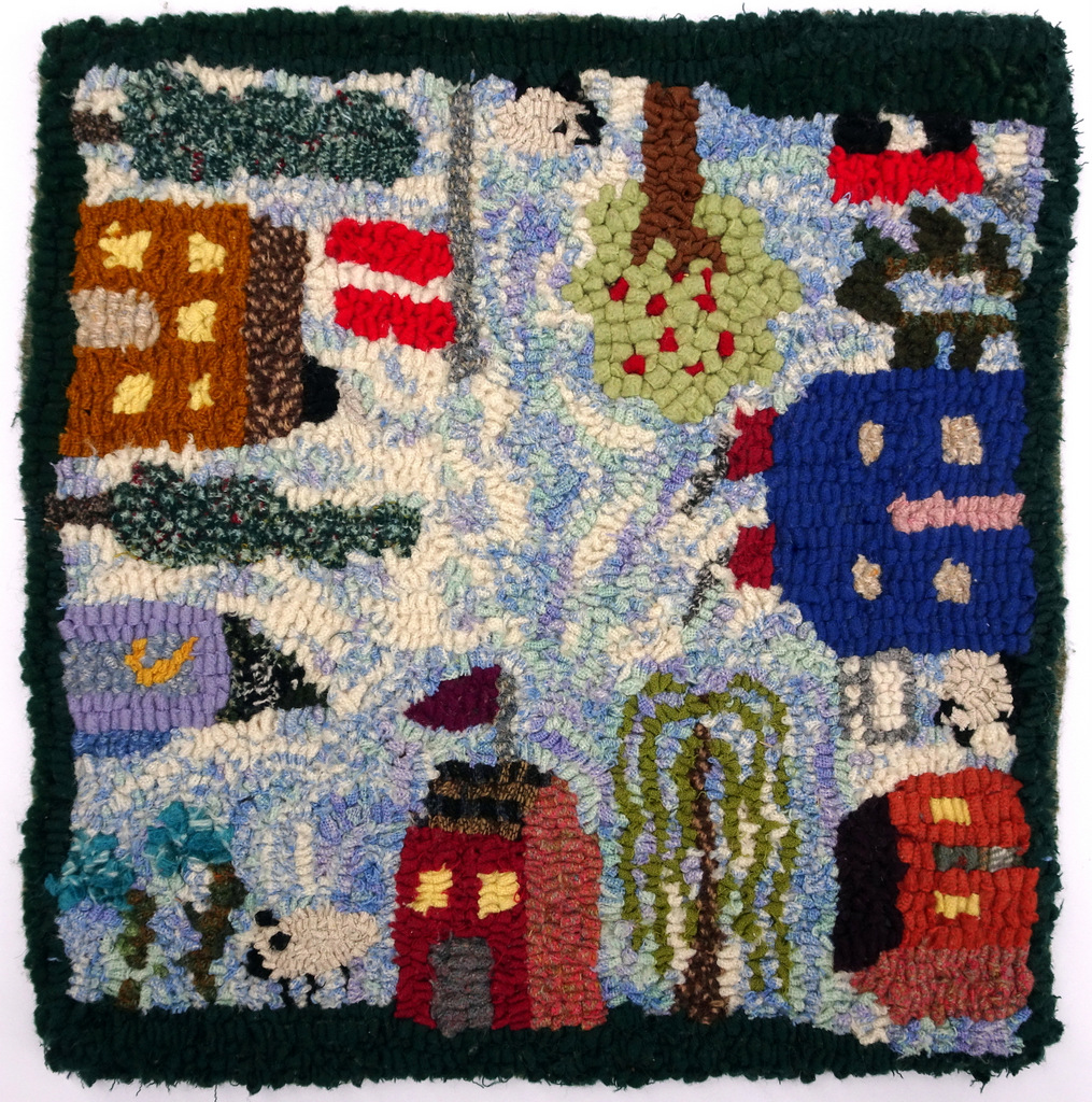 Hooked Rugs, Felted Wool, Buttons, Bitty Bits Mosaics-008.JPG