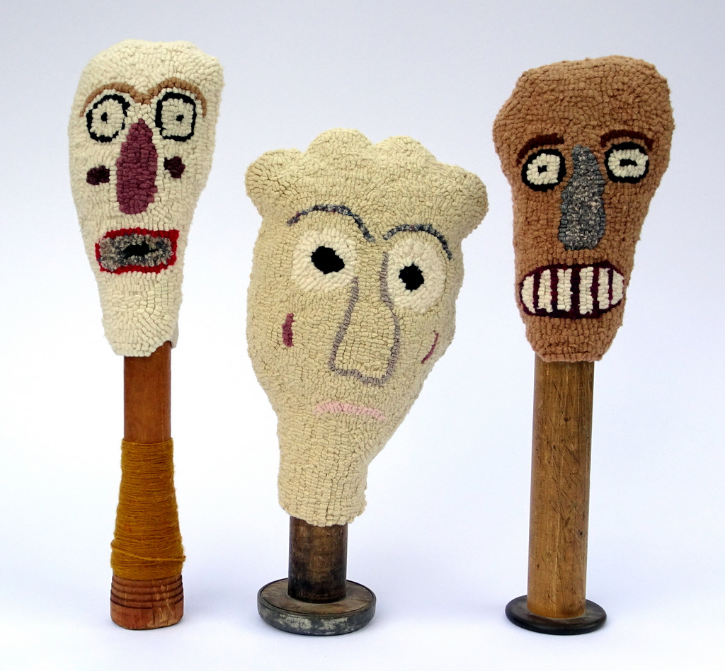 Fiber Art Dolls, Bitty Bits Mosaics.JPG