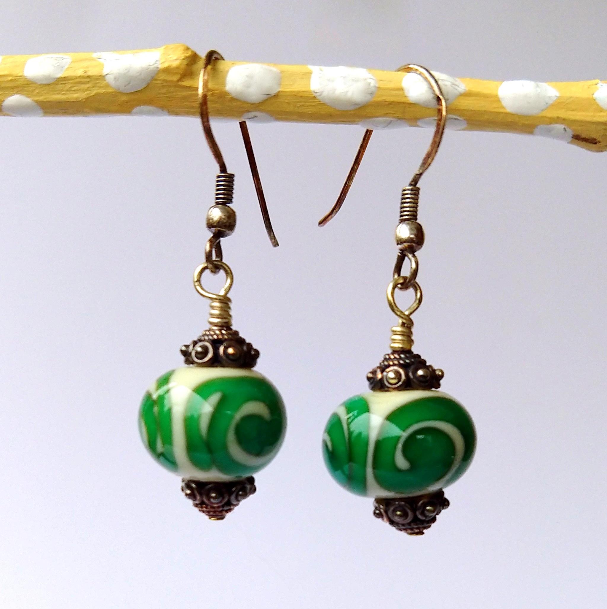 Handmade Glass Bead Earrings, Bitty Bits Mosaics-012.jpg