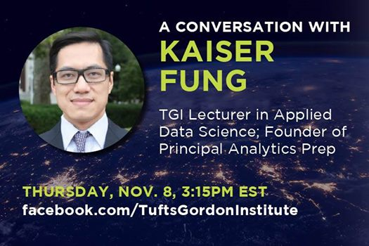 A Conversation with Kaiser Fung at Tufts Gordon Institute