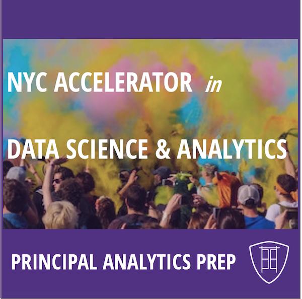Principal Analytics Prep College Accelerator in Data Science & Analytics