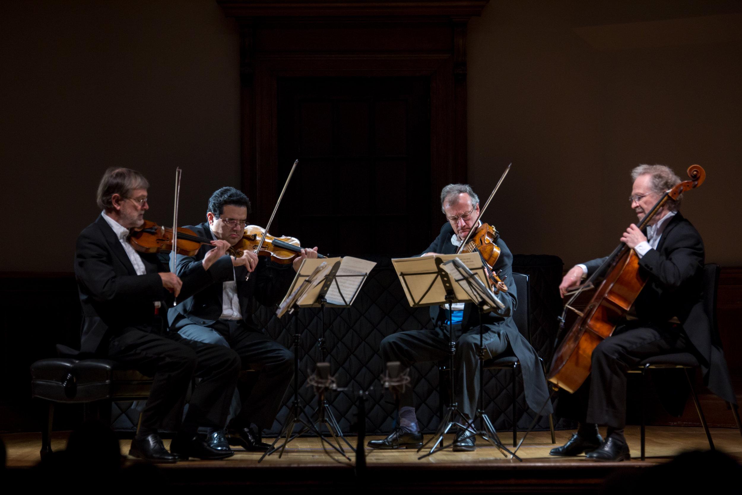 HAYDN, BEETHOVEN, SCHUBERT: KINDRED SPIRITS - OCTOBER 26, 2017. Italian academyEndellion String QuartetIllustrated talk by David WatermanHaydn - String Quartet in G major, Op. 54 No. 1Beethoven - String Quartet No. 12 in E flat major, Op. 127Schubert - Quartettsatz in C minor, D703