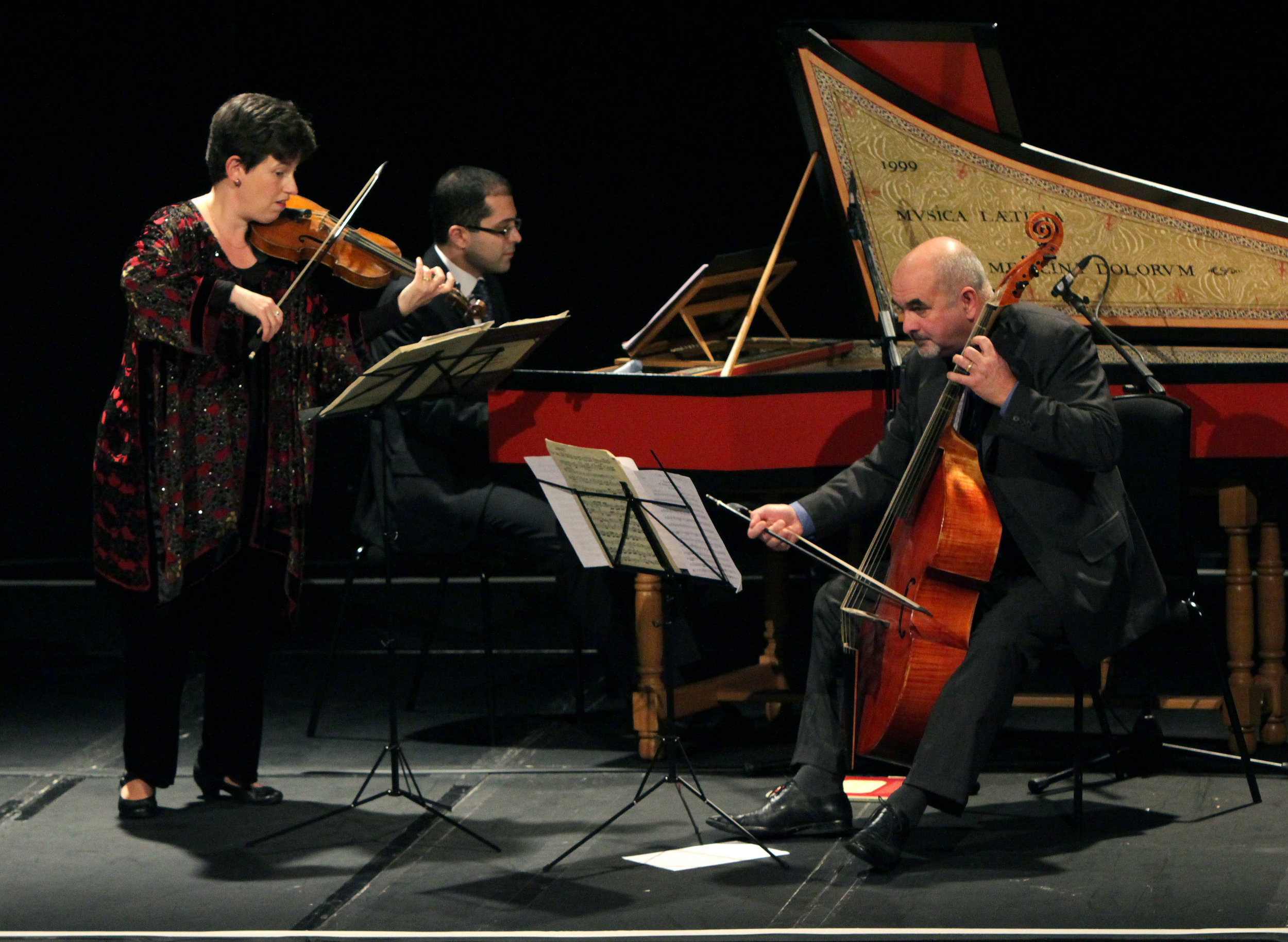 PARIS:AGE OF ENLIGHTENMENT - october 14, 2014. 20th Century theater, londonMahan Esfahani, harpsichord Kati Debretzeni, violin Richard Boothby, viola da gamba Illustrated talk by Philipp BlomMarais - La Sonnerie de Ste Geneviève du Mont-de-Paris (The Bells of St Genevieve)Leclair - Sonata in C minor, Op. 5, No. 6 'Le Tombeau'Rameau - Concerts Nos. 3 & 5 from the Pièces de clavecin en concertsA. Forqueray - La Forqueray, La Leclair, La Rameau from the Pièces de viole avec la basse continueC.P.E. Bach - Keyboard Sonata in F sharp minor, Wq 52/4