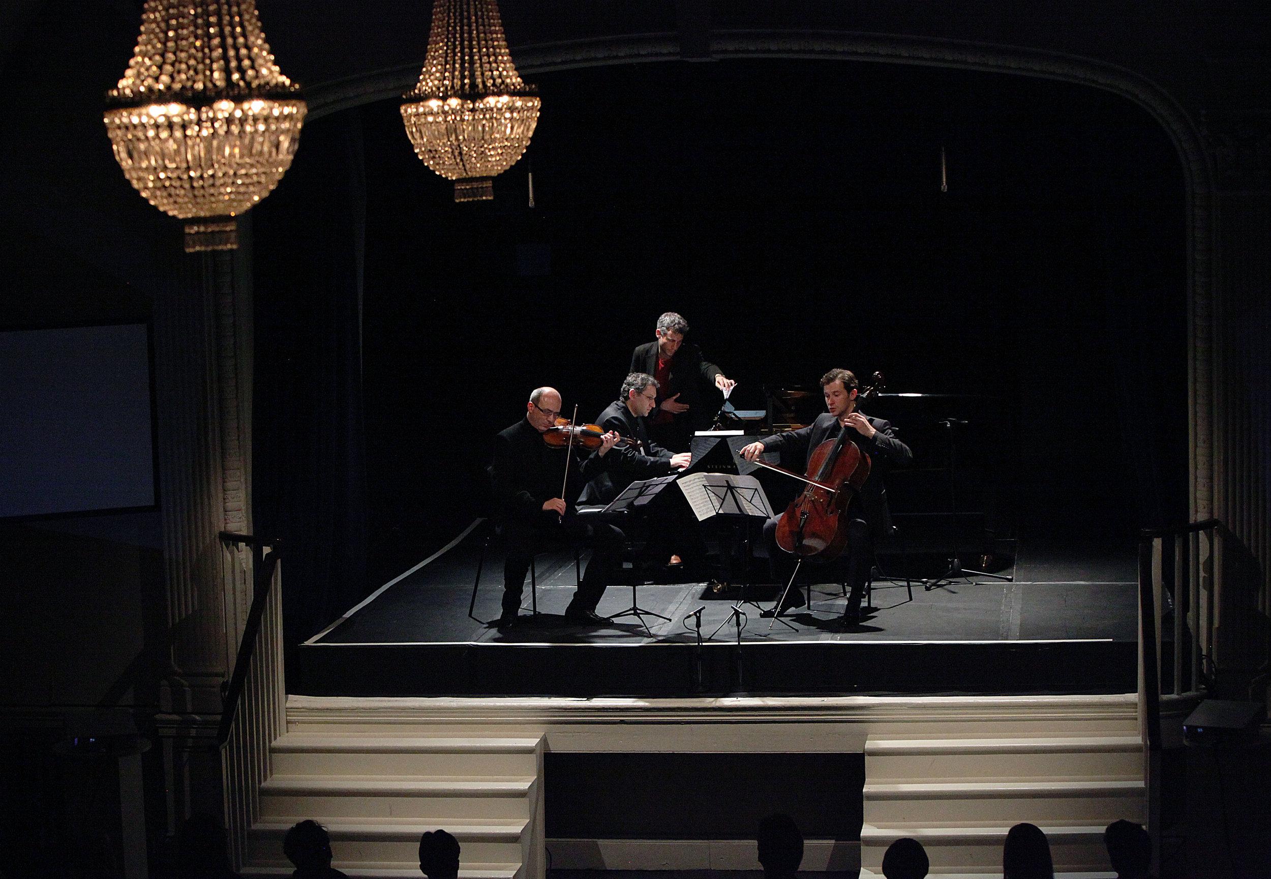 BARON VAN SWIETEN: PATRON AND MUSE OF THE CLASSICS - jUNE 3, 2014. 20TH century theater,londonAlexey Lundin, violin Alexei Kiseliov, cello Vsevolod Dvorkin, pianoIllustrated talk by Stephen JohnsonJ.S. Bach - Cello Suite in G major, BWV 1007 (Prelude)Handel - Violin Sonata in D major, HWV 371C.P.E. Bach - Sonata No. 3 from Sonaten, Wq 57Mozart - Violin Sonata No. 35 in A major, K526Haydn - Trio No. 44 in E major, Hob. XV:28