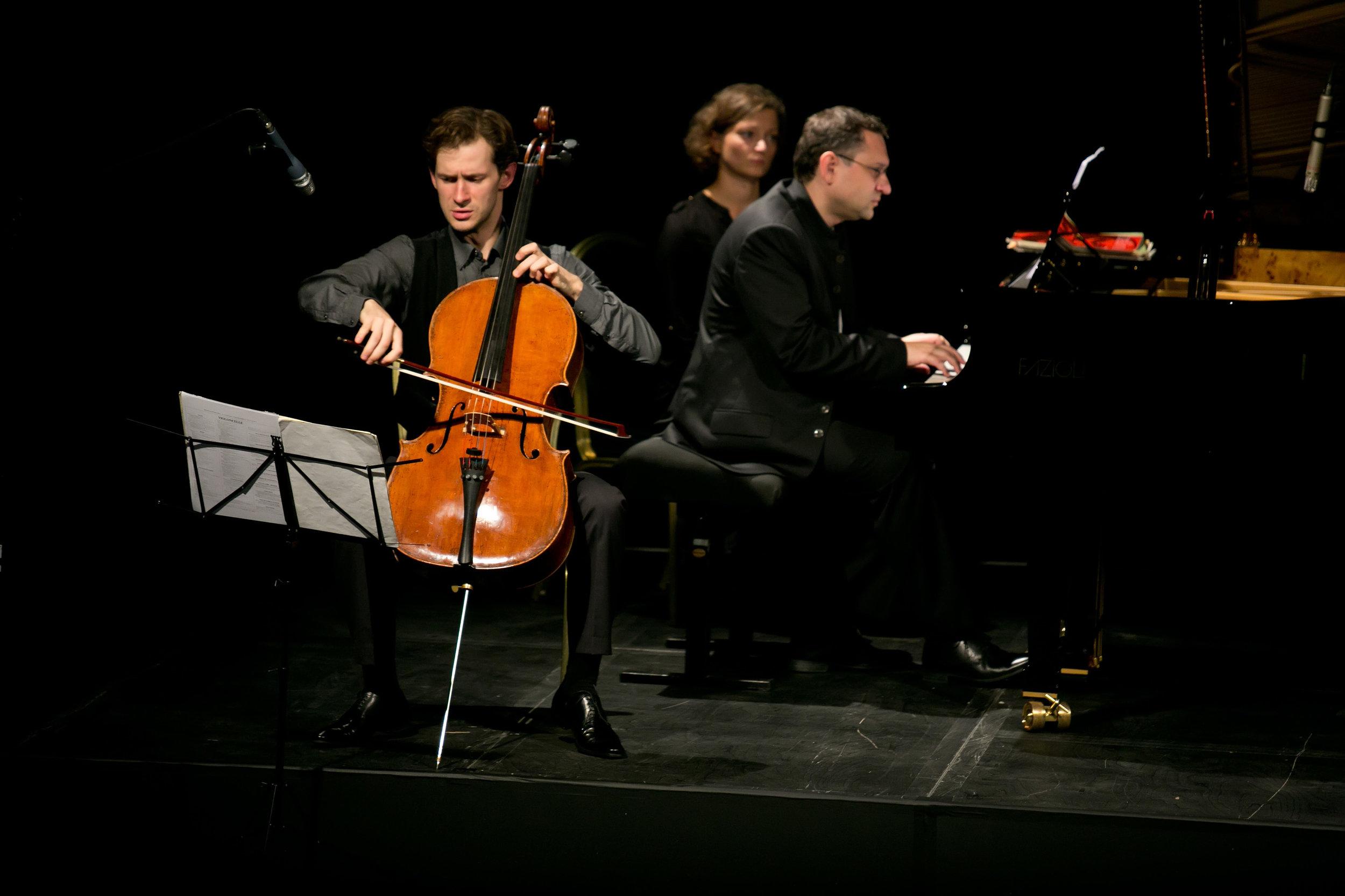 MISIA: THE MUSE OF BELLE EPOQUE - sEPTEMBER 21, 2013. 20TH CENTURY THEATER, londonAleksei Kiseliov, celloVsevolod Dvorkin, pianoIllustrated talk by Patrick BadeGabriel Fauré - Romance, Op. 69; Élégie, Op. 24; Papillon, Op. 77Claude Debussy - Nocturne et Scherzo for Cello and Piano; Sonata for Cello and Piano in D minorMaurice Ravel - Le Cygne (arranged for Cello); Pièce en Forme de HabaneraFrancis Poulenc - Cavatine from Sonata for Cello and Piano, Op. 143 Igor Stravinsky - Suite Italienne (after Pulcinella) for Cello and Piano