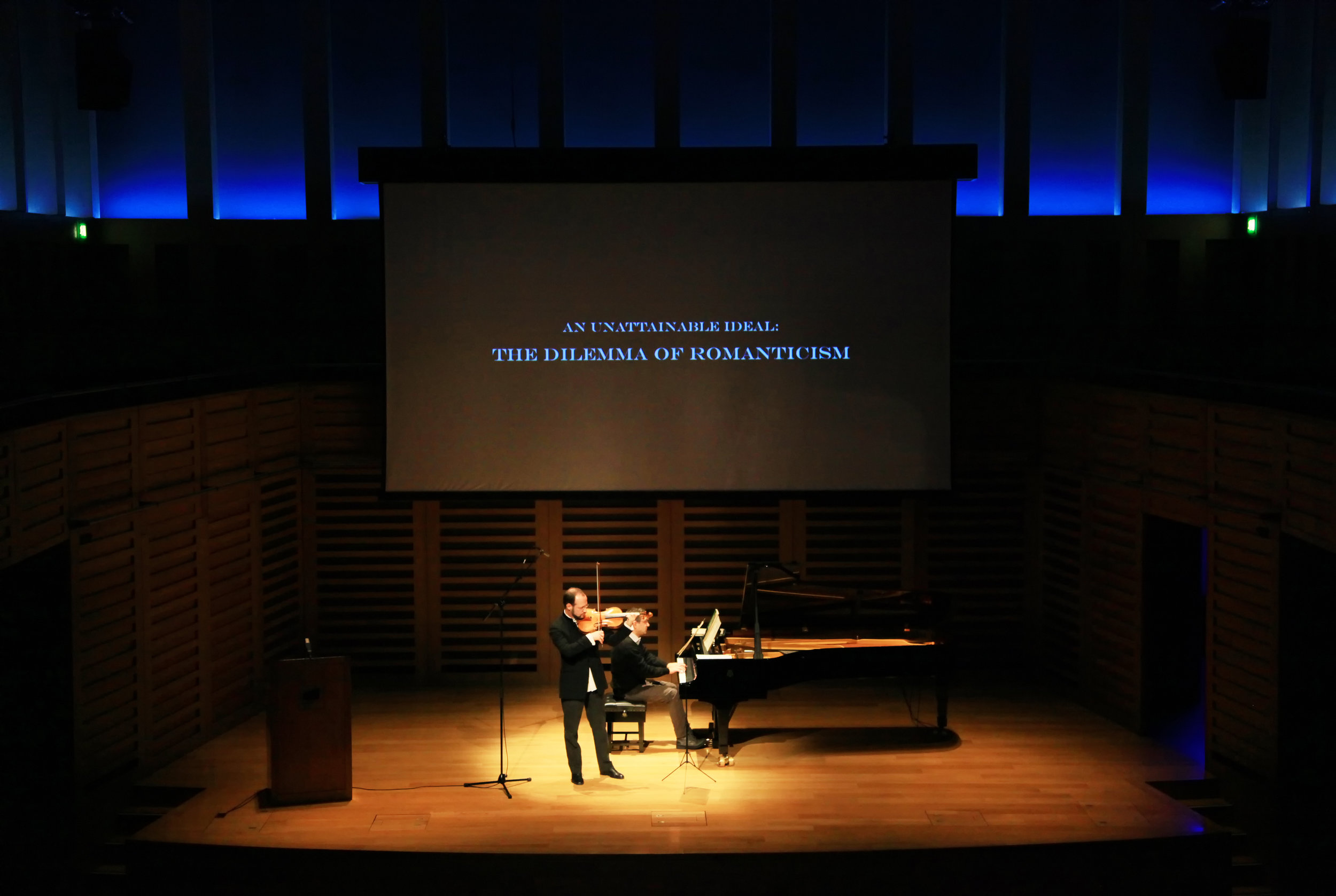 AN UNATTAINABLE IDEAL: THE DILEMMA OF ROMANTICISM - may 1, 2012. kings place, londonIakov Zats, violaVsevolod Dvorkin, pianoIllustrated talk by Ben StreetWorks by Brahms, Schumann and Franck