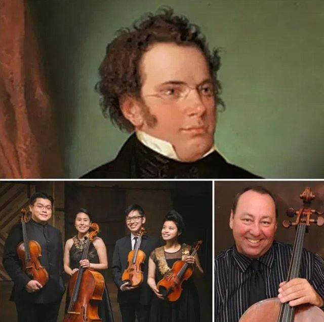 We really hope you'll join us for our first concert of the 2019-20 season, Schubert Quintet, exactly one month from today!! Ticket link in bio! . . . #aspectseries #aspectchambermusic #openingnight #firstconcert #chambermusic #classicalmusic #schubertquintet #schubert #formosaquartet #peterwiley #nyc #newyorkcity #concert #classicalconcert #wine #mingle #learnsomething
