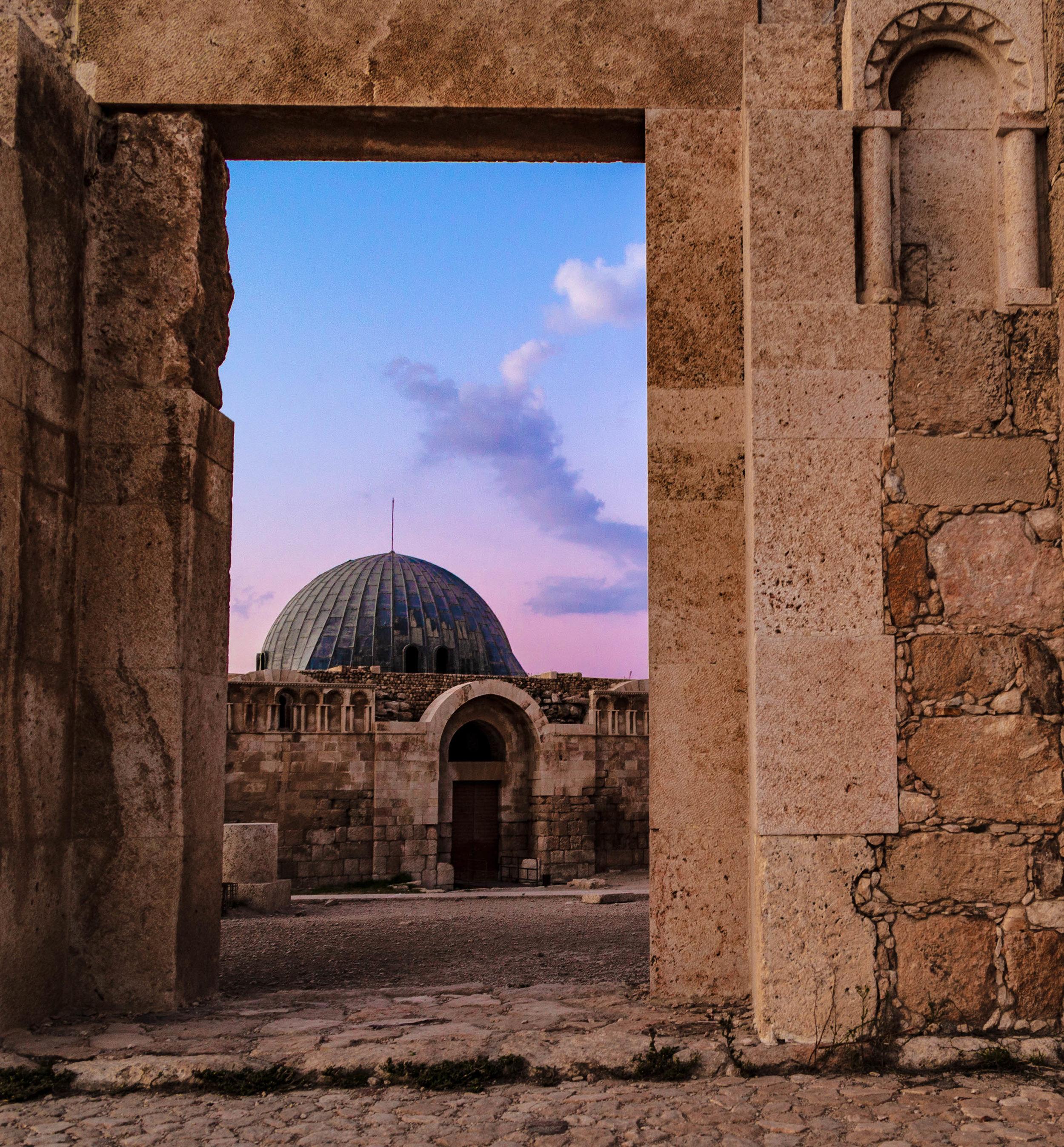 Ummayad Palace at The Citadel, Amman