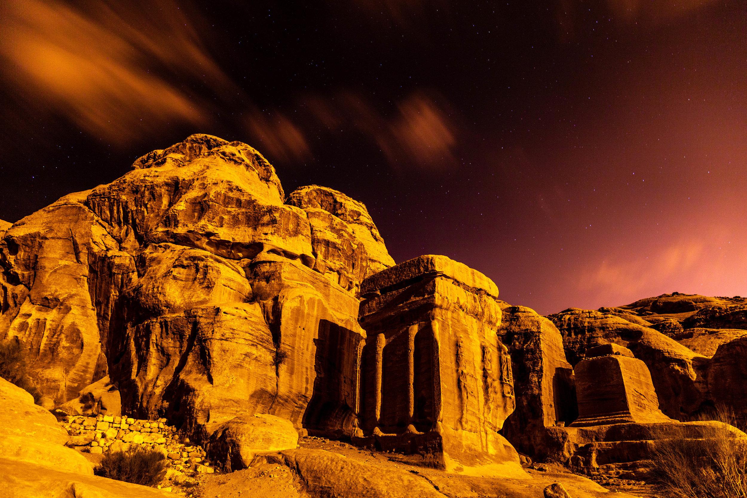Djinn Blocks at Petra