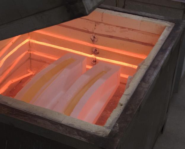 Oven casting two Makapu-u prisms blanks
