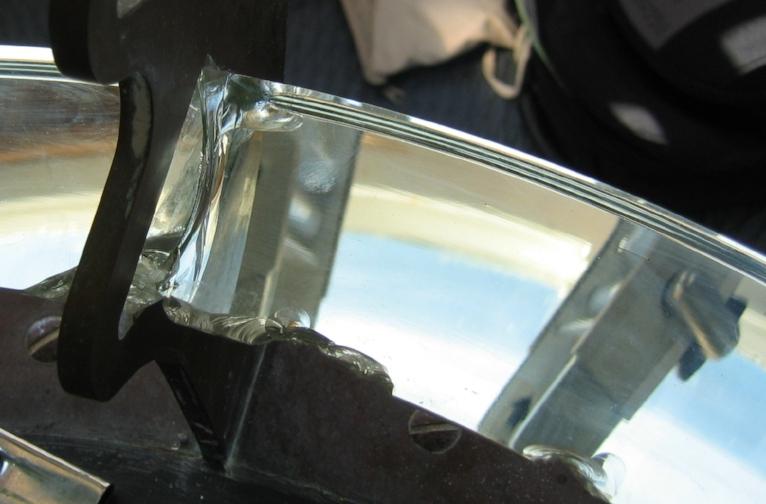 Damaged original prism, Diamond Head light