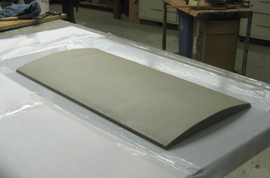 Clay model of flat lens