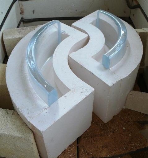 Investment casting setup