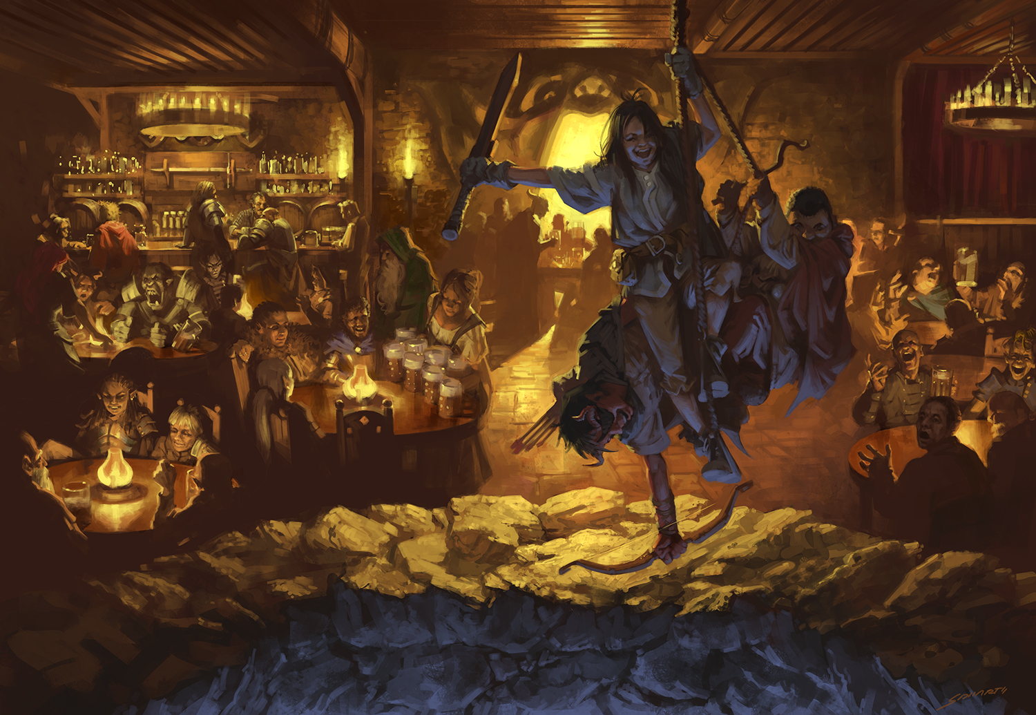 Dungeons and Dragons - Yawning Portal Tavern Digital © Wizards of the Coast