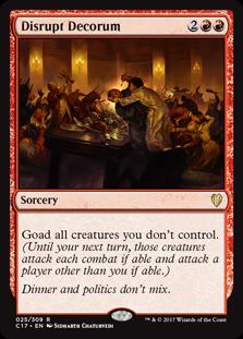 Disrupt Decorum (Non-Foil Only)