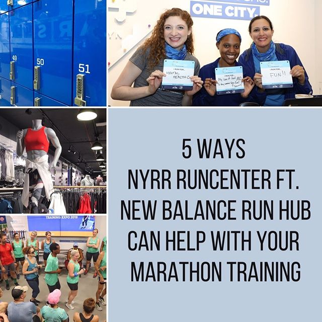 How has the #NYRRRunCenter ft. #NBRunHub helped with your training? Marathon training is officially in full swing! Whether it's going to be your first 26.2, or you've crossed the finish line more than a few times, the #NYRRRunCenter is a great resource for your training. Swipe through 👉 for 5 Ways the RunCenter Can Help with Your Marathon Training, and comment below how the RunCenter has helped you #GetOutToRun!