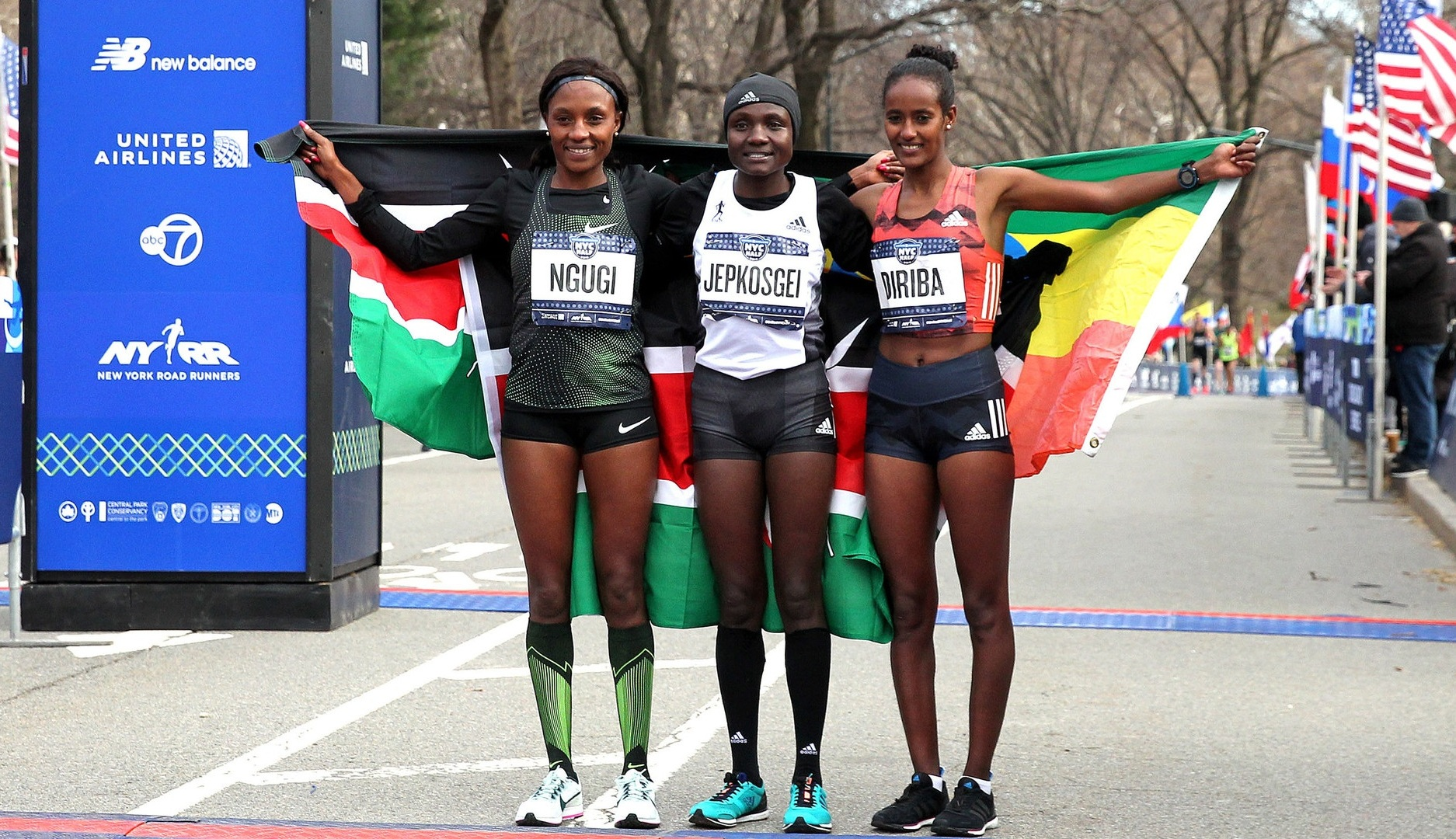 Following her podium finish at the 2019 United Airlines NYC Half, Mary Ngugi will run the 2019 TCS New York City Marathon on November 3.