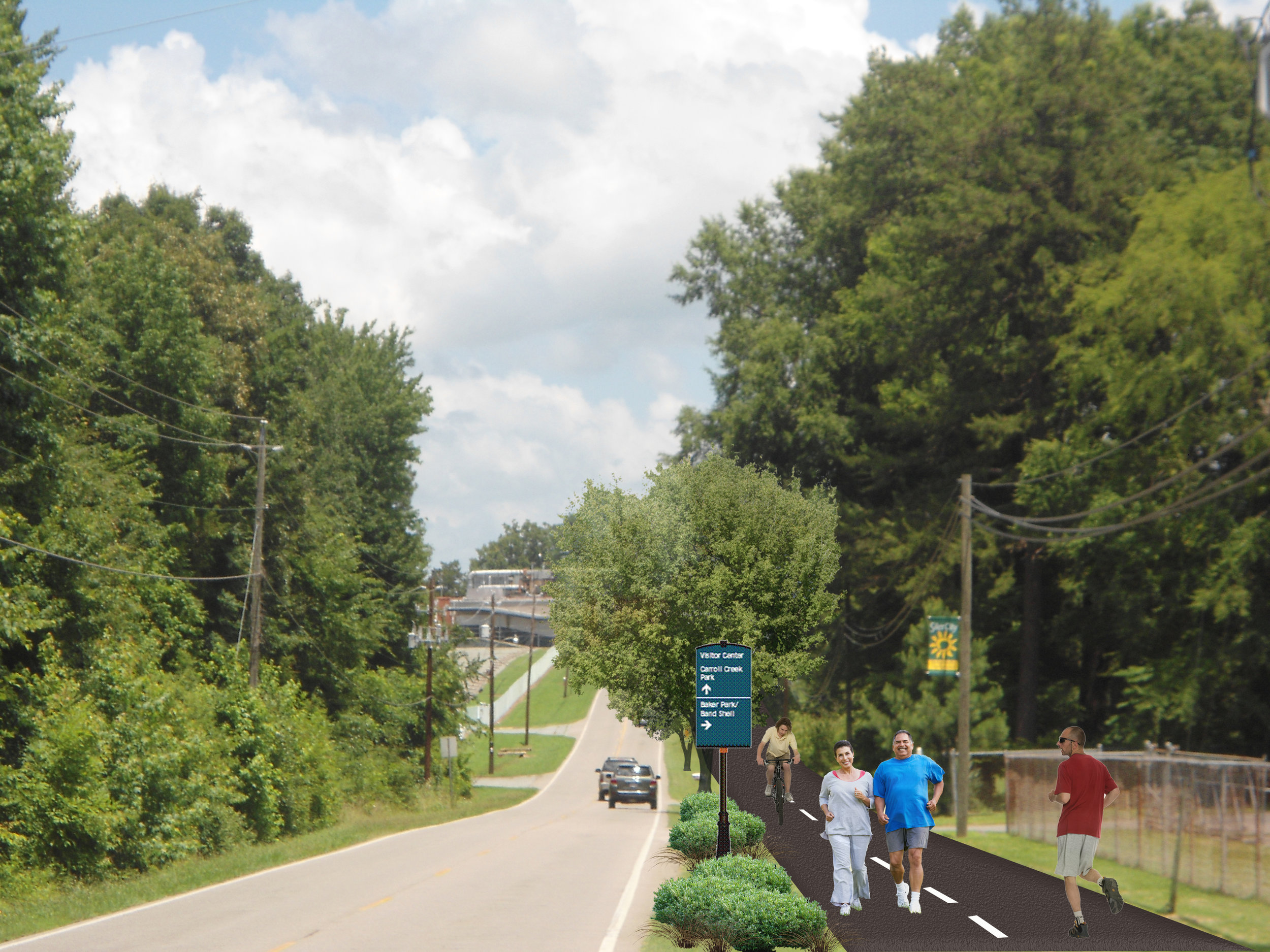East Raleigh Street Proposed Multi-Use Plan