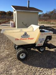 Dump Buggy, .59 Cubic Ft., Ride On