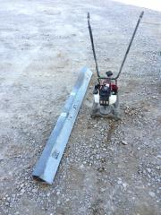 Concrete Power Screed With Edges