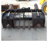 Brush Root Grappler, Skid Steer Attachment