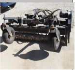 Harley Power Box Rake, Skid Steer Attachment