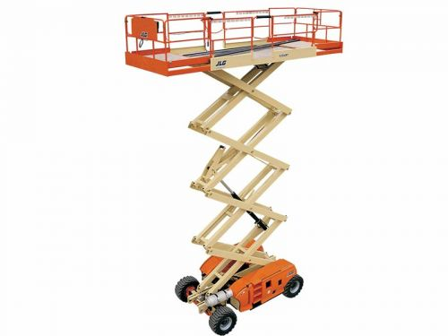 Scissor, JLG 439 RT 40 FT. Man Lift