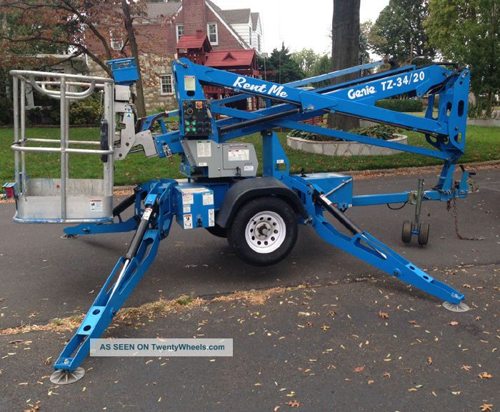 Genie TZ-34 / 20 Towable manlift