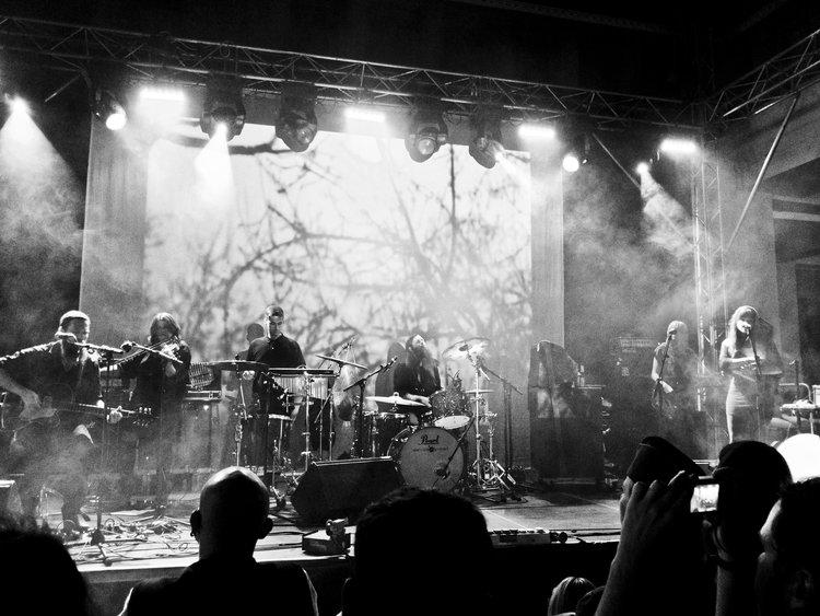 Live at the Wave Gotik Treffen in Leipzig, Germany.