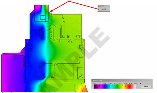 Sample of Therm Simulation Report showing Total U Factor and Dew Point Analysis -9 .jpg