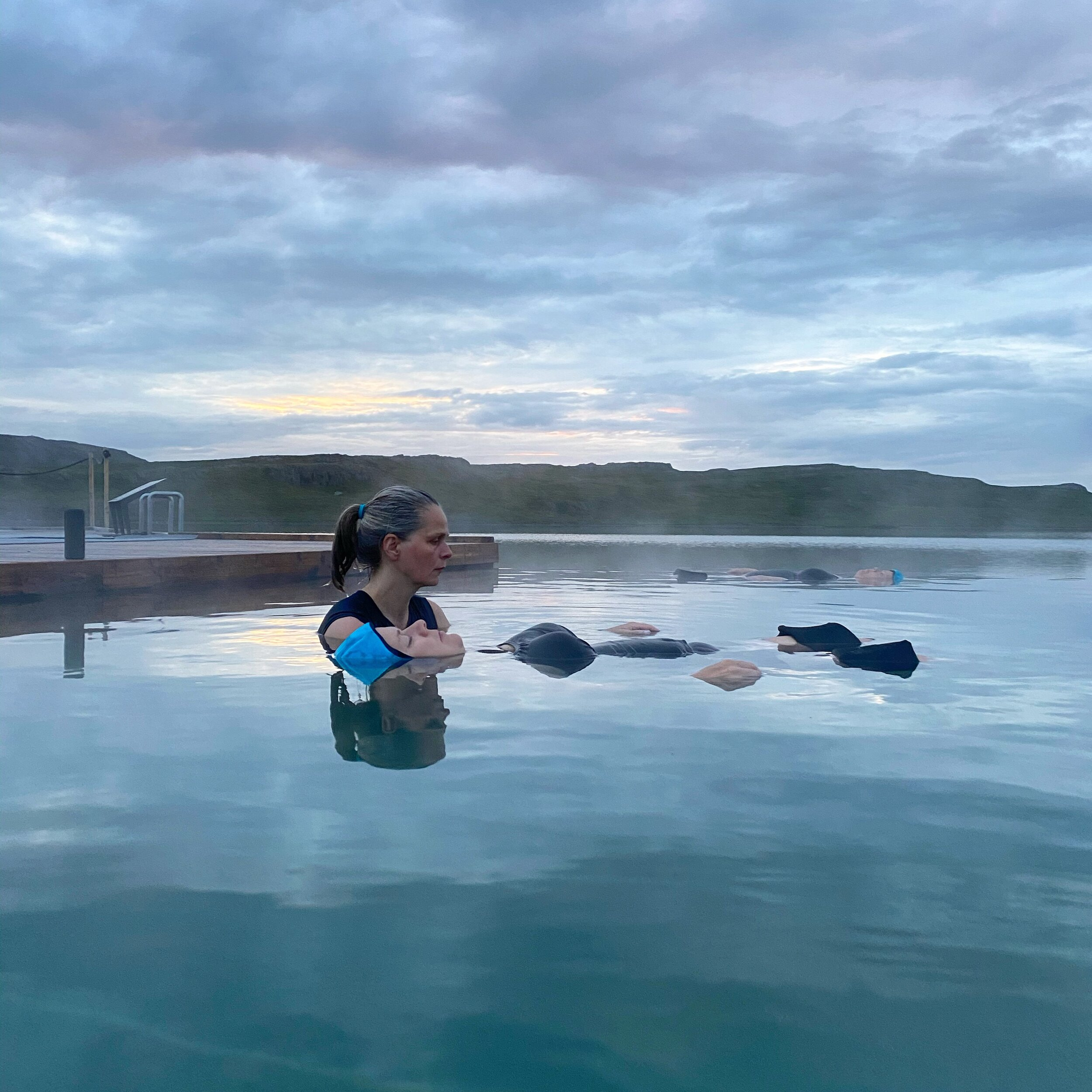 Unnur Valdís Floating in Water Therapy and Meditation Teacher