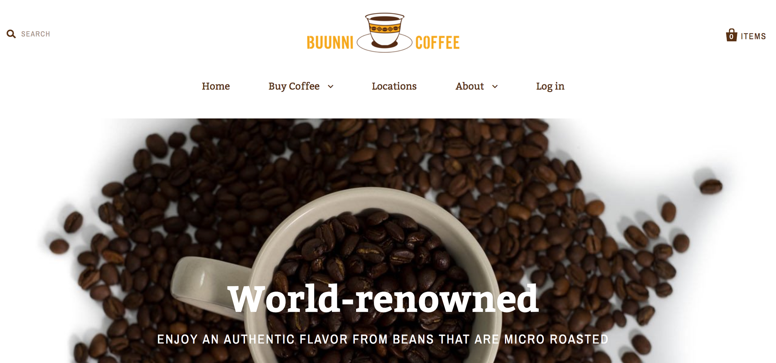 Reworked Logo for Buunni Coffee