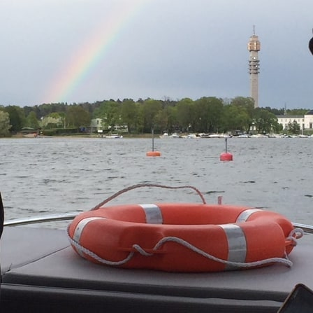Isn't the rainbow beautiful?