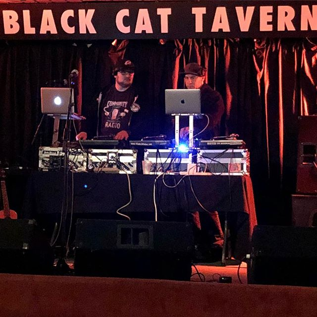 Stone cold party rockers playing jams tonight!  Roll down to @blackcatyxe for an incredible line up of rap!! #rapshow #risforrapshow #live #rap #broadway #music #livemusic