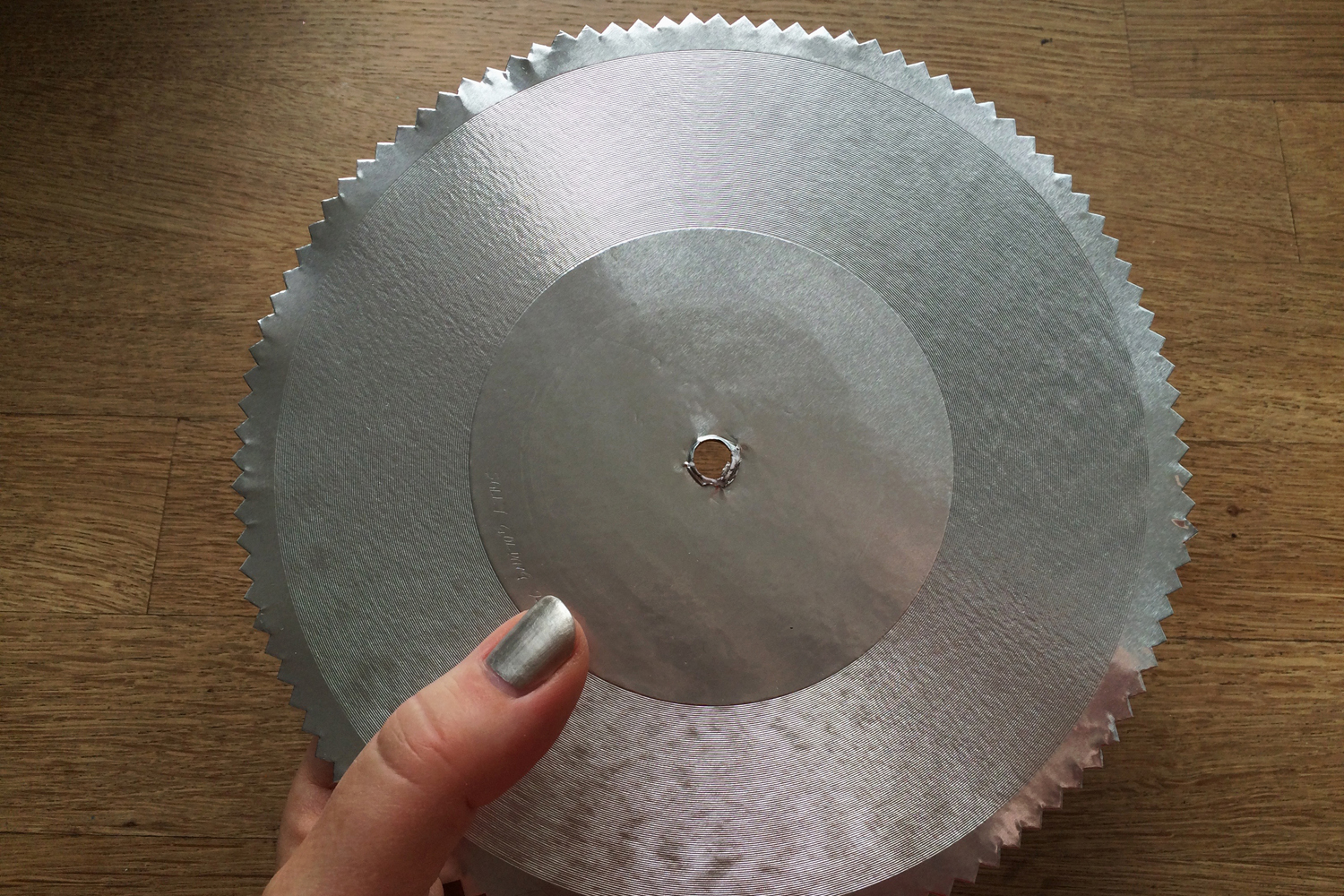 Lathe Cut Audio - Sounds hand lathe cut in edition, experimenting in primitive direct lathe cutting, playing back the friction of the amplified surface.