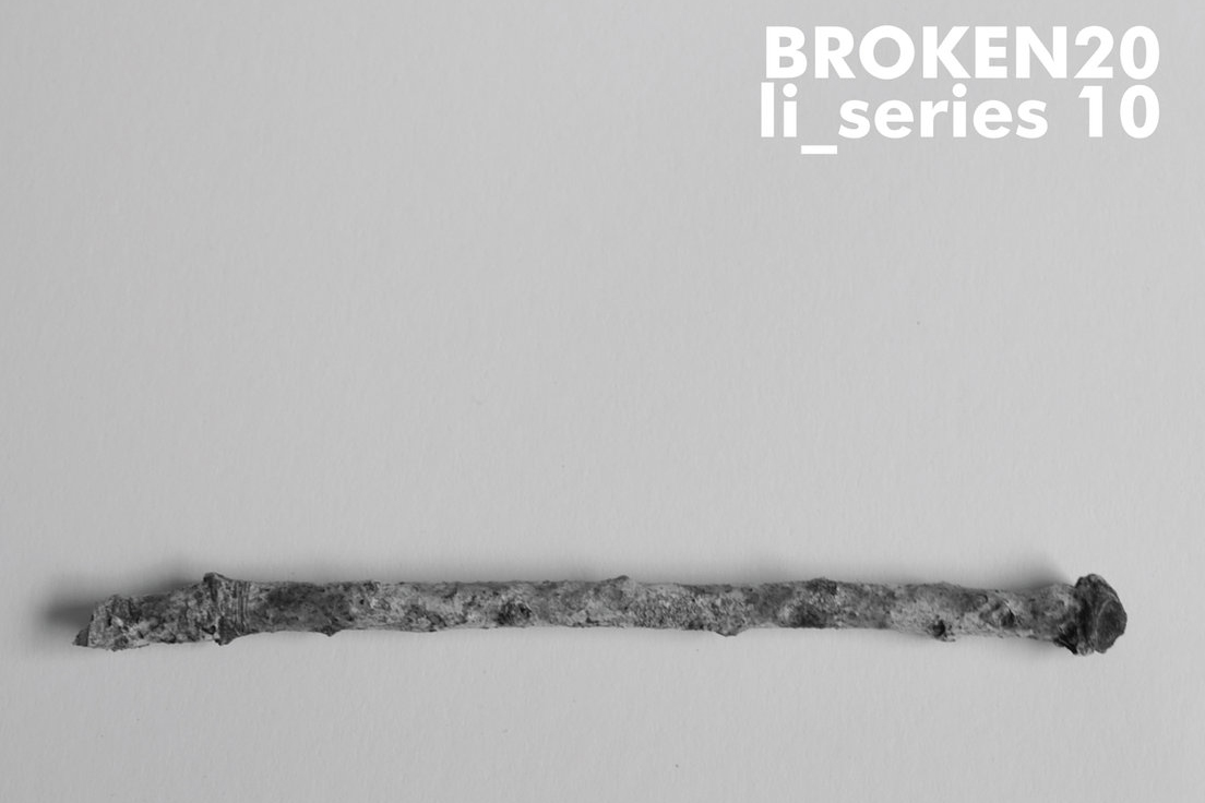 Spatial-Golding: Capacities - Broken20 - A hybrid sound, image and text release, with an audio collaboration by Spatial-Golding accompanied by a text by Golding on the li_series 10.