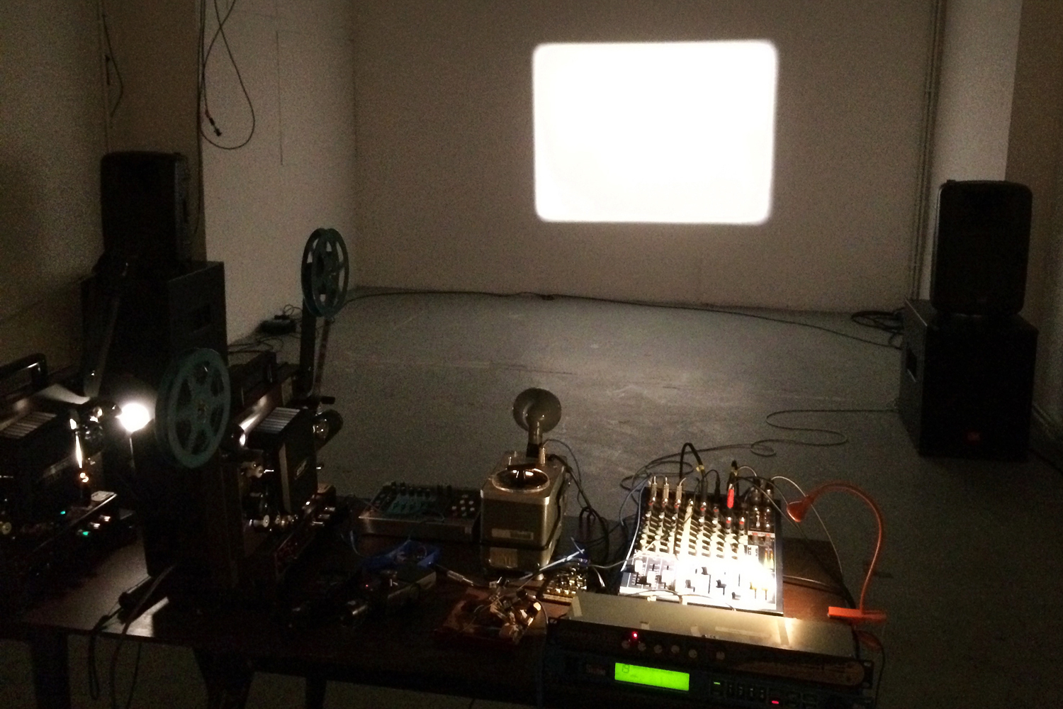 Studio Sounds - Sonified productions from material, electric and vocal investigations informed by the experience and form of live performance.