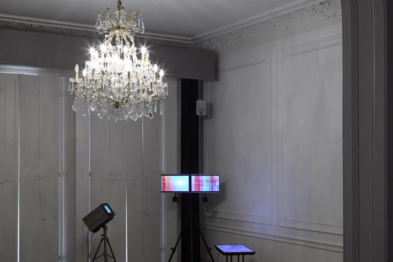 Photo: Emotion + The Tech(no)body exhibition Austrian Cultural Forum London; artwork by Stephen Cornford; photo by George Darrell (image cropped)