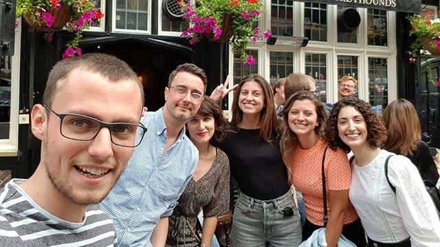 Did someone say Scavenger Hunt?  Nothing says Summer Party like seeking out all the artsy, boozy, historic and iconic spots London has to offer... Especially when there are prizes up for grabs! 🔎🏆 . . . . . #scavengerhunt #soho #london #summerparty #dreamteam #teamwork #agencylife #digitalagency #londonagency #startuplife