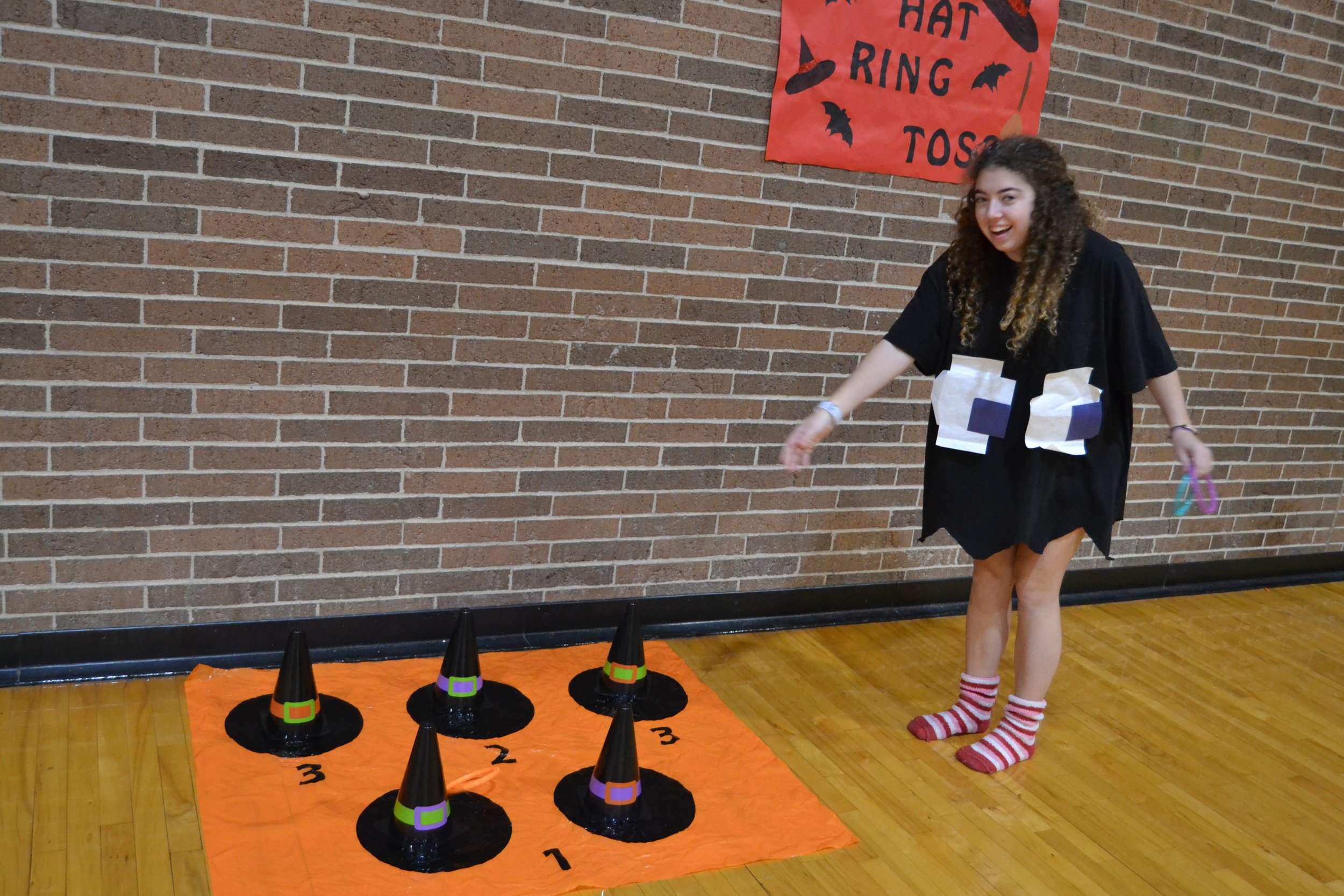 The Witch's Hat Ring Toss Game