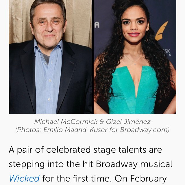 Congrats to Gizel @giz_zy (star of upcoming Episode 6) on her Broadway debut!!! Can't wait for you to hear her crush it in her scene with @alistroker!