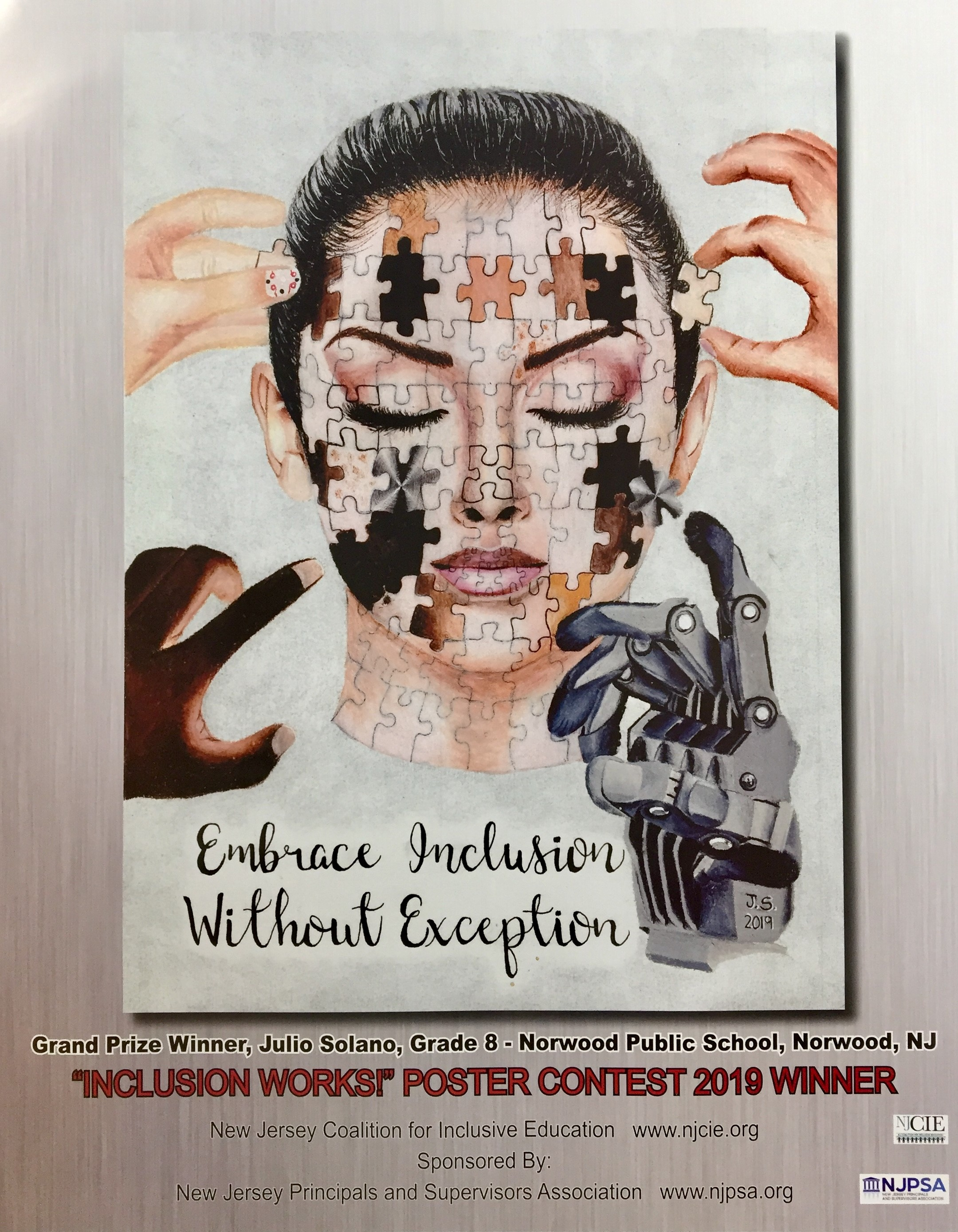 Annual Poster Contest & NJCIE Honors! - At the 2019 Summer Inclusion Conference, NJCIE will announce 2019's Annual Poster Contest Winner along with the educators winning the NJCIE Honors in 2019. Don't miss it!