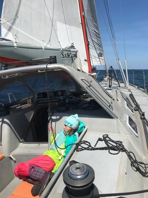 It wasn't all smooth sailing.  Hello sea sickness.