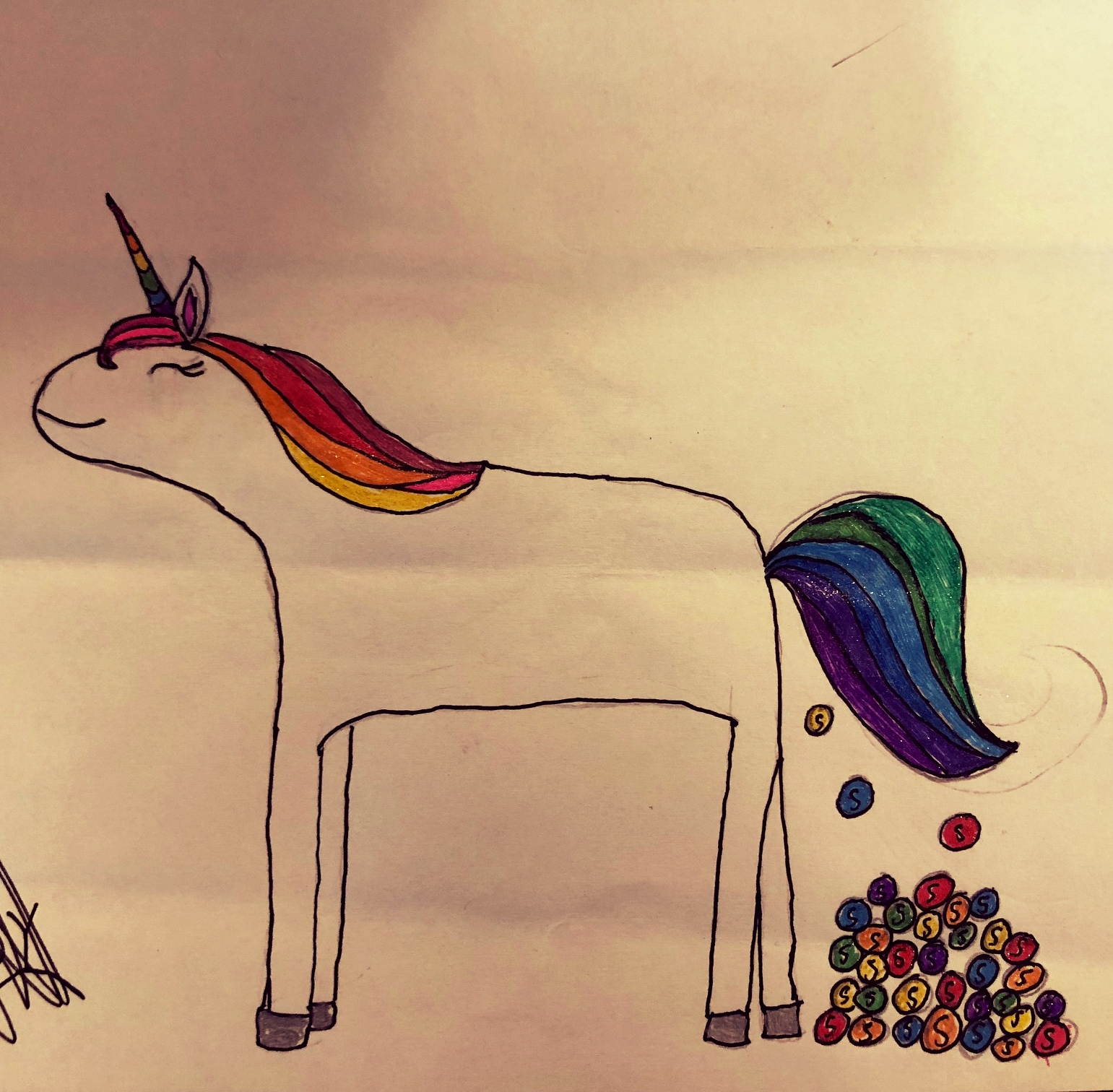 The Skittle Farting Rainbow Unicorn