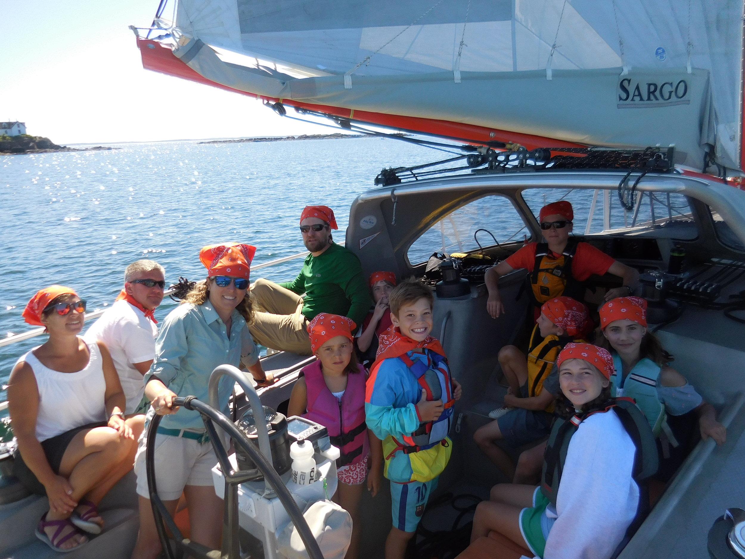 Sailing Sargo Crew