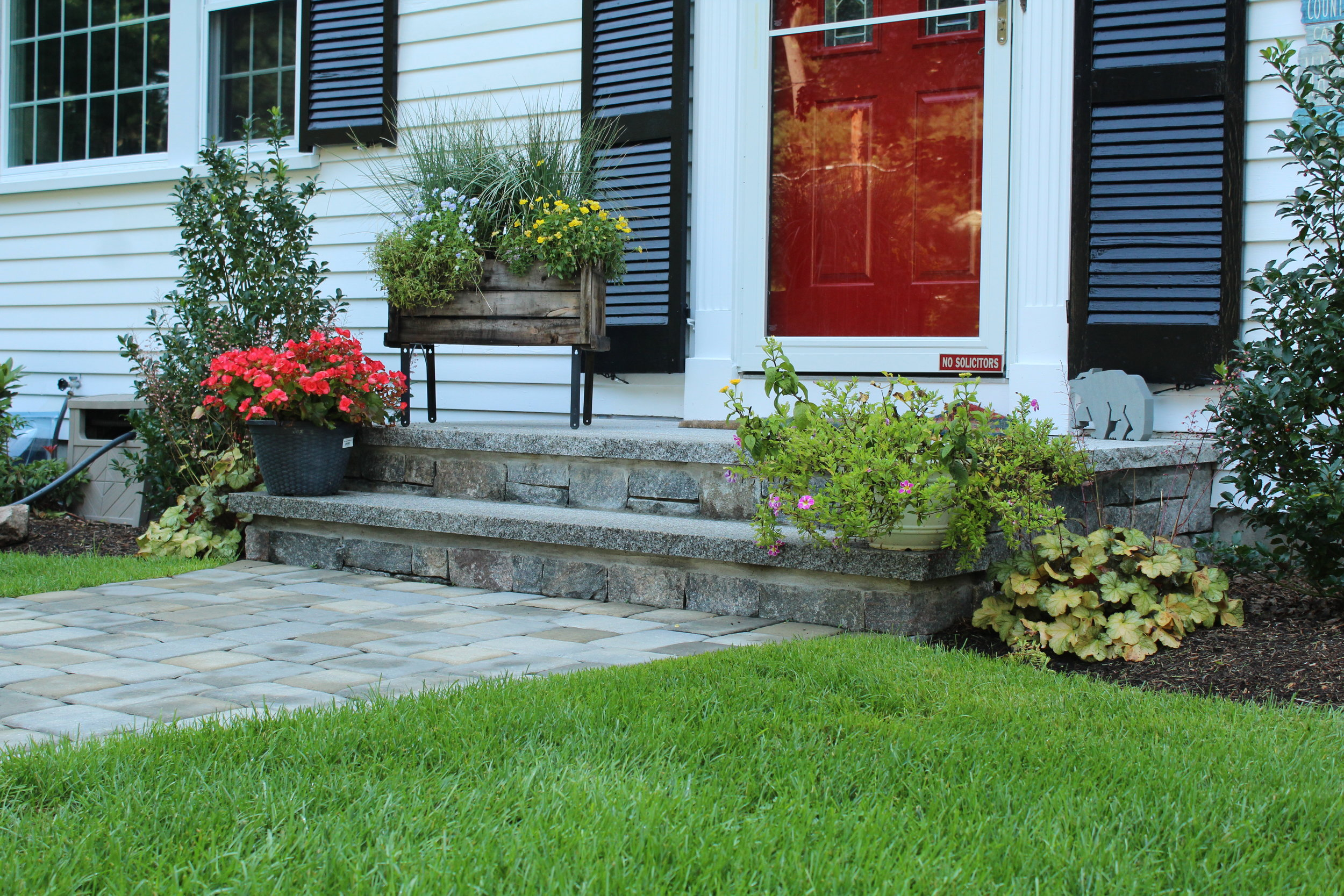granite steps and stair treads